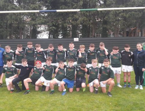 1st and 2nd year rugby blitz