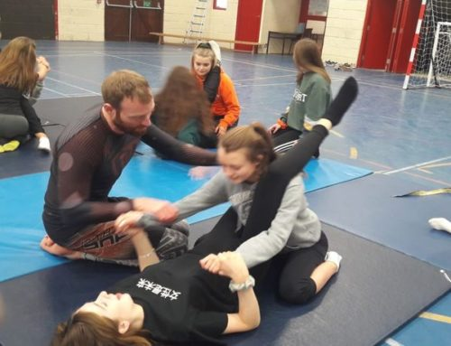 10th Planet Carlow Teach our TY's self defense and Jiujitsu grappling
