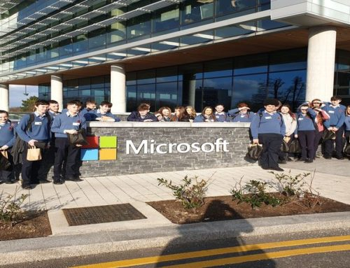 """Transition year students visited Microsoft's """"Dreamspace"""""""