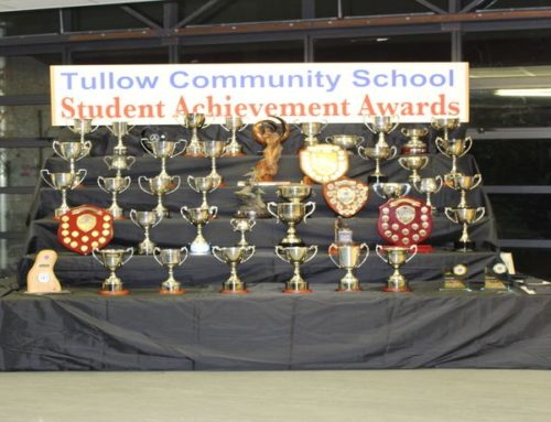 TULLOW COMMUNITY SCHOOL  PRIZE-GIVING CEREMONY