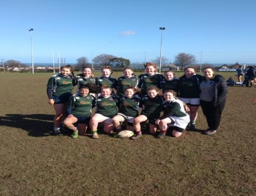 Girls Junior rugby through to the Leinster Finals