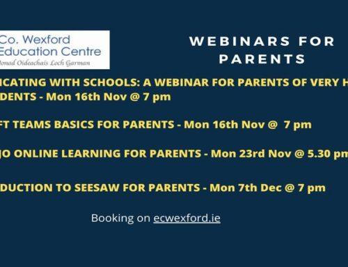Webinares for Parents